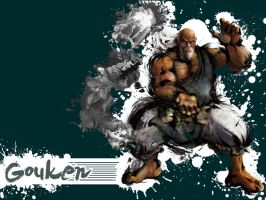 SFIV Alternate Gouken by Vegett0