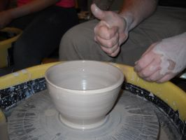 clay bowl by OldEagleEars