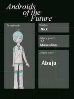 Androids Of The Future.-Nick. by xFlopyBonitax