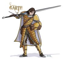 Dungeons And Dragons Character - Garth by thecommonwombat