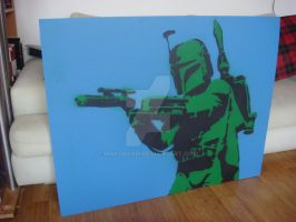 boba fett stencil finished by makobsan