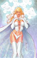 Emma Frost Winter version by alucard3999