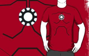 Ironman Armor T-Shirt by drg