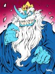 The Ice King. by Kenji-Seay