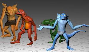 Three-dimensional meens (+download) by Ramul