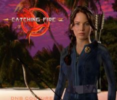 Catching Fire: Katniss in the Arena II by dnbcouture