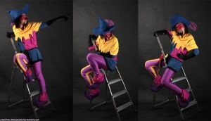 Photoshoot - Ladders by Quarter-Virus