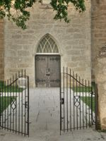 Churchyard Gate by midnightstouchSTOCK