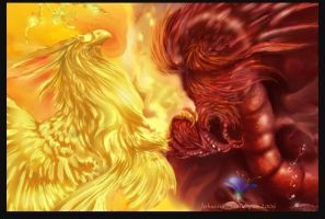 the phoenix and the dragon by nanna