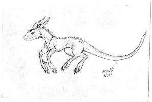 Dracobeast revamped concept by Dinoboy134