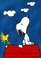 Snoopy by katiebeau