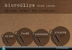 BiuroClips dock icons by Carburator