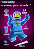 Benny the 1980's something Spaceman by Qualinwraith
