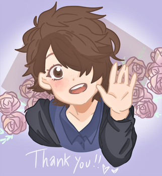 Thank You Card by Veemaxima