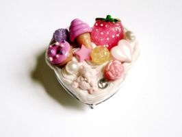 Sugar and Spice Pocket Mirror by LittleMissDelicious
