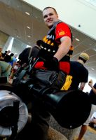 Otakon 2011 Team Fortress by DarkGyraen