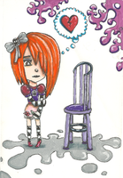 The Purple Chair by Mollykittykat