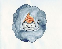 Cute cats cupcake by PixieBMTH