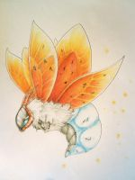 Volcarona by Silverbirch
