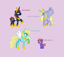 Just some random alicorn family by Rain-Approves