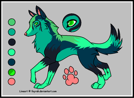 wolf adoptable :CLOSED: by WolfxTracks