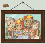 HPM-- Hunt Family by kay-kitty-smiles