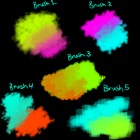 Brush Pack for fire alpaca by candydesufox