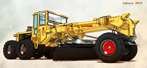 Zombie Grader 7311 by aconnoll