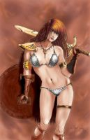 Red Sonja pg version by WKenney