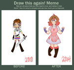 Draw This Again - Tabby by AnneHairball