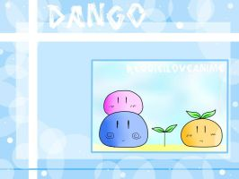 Dango wallpaper by Reggieiloveanime