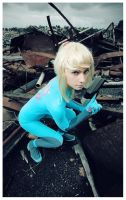 SSBB - Zero Suit Samus 3 by beethy