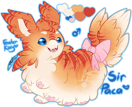 My very own Floofapillar~ by MATicDesignS