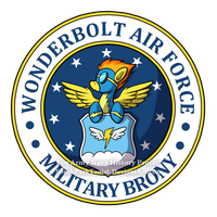 Equestria Air Force Seal by SouthParkTaoist