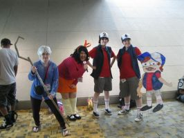Otakon '13: Jack Frost (Me!) and Double Dipper-ers by KatrinaLyoko