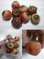 Handmade eyeballs - old and new by Alzheimer13