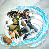 ATLA collab by reikureii