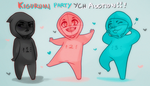 YCH AUCTION : Kigurumi Party! [ CLOSED ] by BitterBile