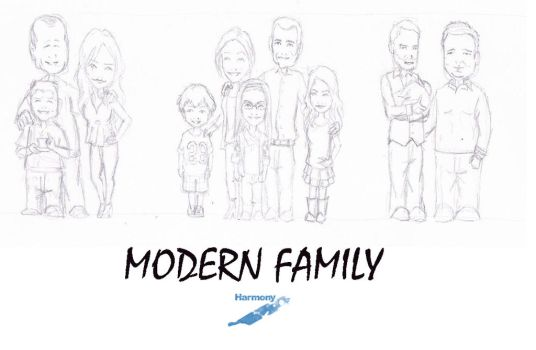 Modern Family by Harmony-or