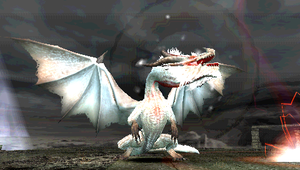 white fatalis screen shot by r2knightmare