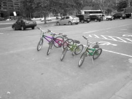 Band of Bikes by TheDrifterWithin