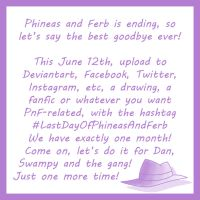 PnF - #LastDayOfPhineasAndFerb by Juli4427