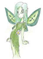 The Moss Fairy by The-sorceress-of-air