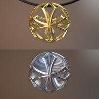 3D print Pendant on Shapeways by nic022