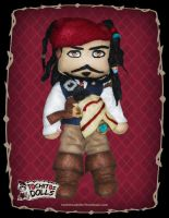 Tochitos Dolls, Jack Sparrow by TochitosDolls