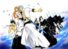 BLEACH: Here we are by Sideburn004