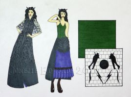 Maleficent Illustrations by Isilian