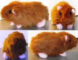 Baby Guinea Pig Plush by Jarahamee