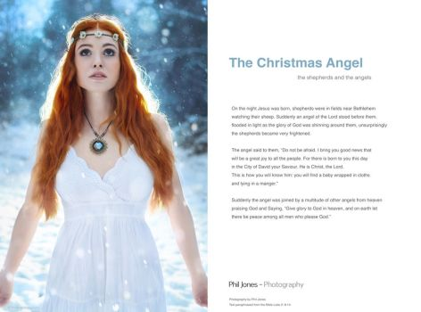 The Christmas Angel by PhilJonesPhotography