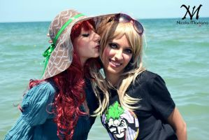 kiss on the sea by Moony-Cosplay